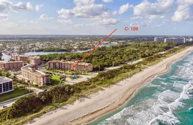 2871 N Ocean Boulevard C109, Boca Raton, FL 33431 (#RX-10690282) :: The Rizzuto Woodman Team