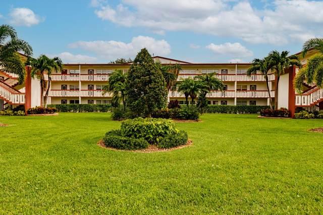 322 Brighton H, Boca Raton, FL 33434 (#RX-10691554) :: Michael Kaufman Real Estate