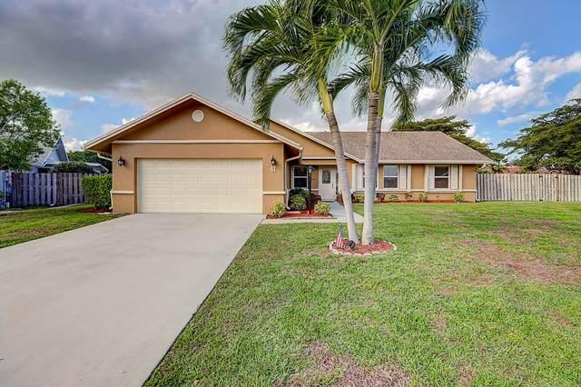 41 Cedar Circle, Boynton Beach, FL 33436 (#RX-10693185) :: Realty One Group ENGAGE