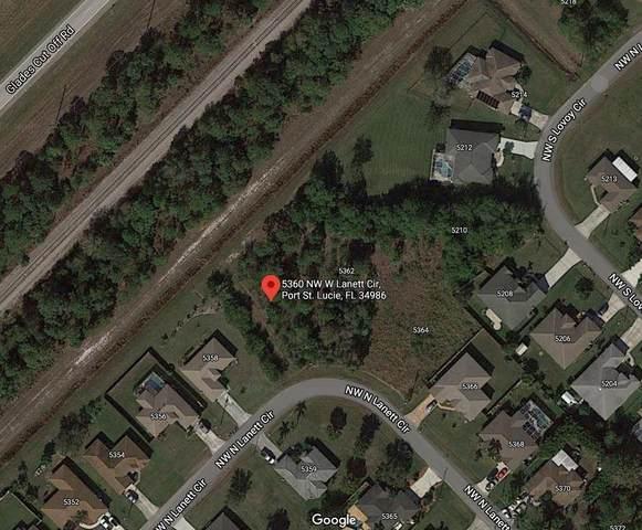 5360 NW Lanett Circle W, Port Saint Lucie, FL 34986 (MLS #RX-10693417) :: The Paiz Group