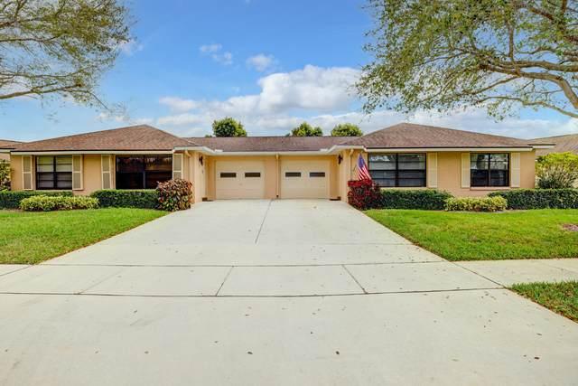 4350 Pear Tree Circle B, Boynton Beach, FL 33436 (MLS #RX-10694614) :: Castelli Real Estate Services