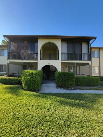 334 Knotty Pine Circle B-1, Greenacres, FL 33463 (#RX-10695215) :: Posh Properties