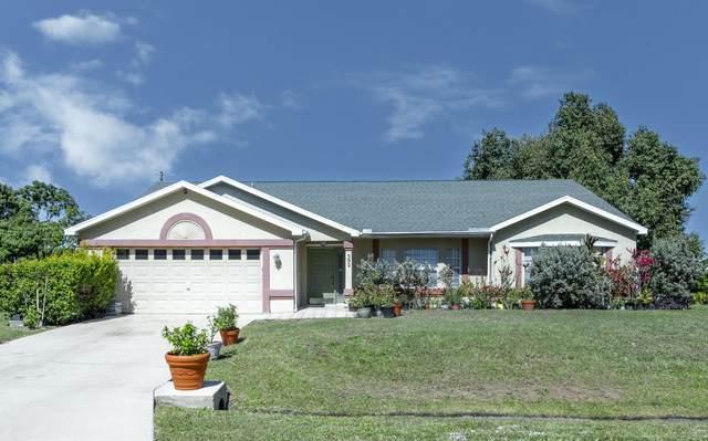 592 SW Lovell Terrace, Port Saint Lucie, FL 34953 (#RX-10696799) :: Michael Kaufman Real Estate