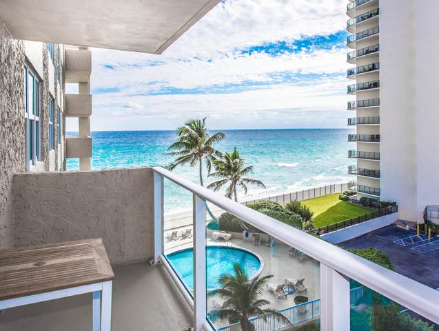 5440 N Ocean Drive #505, Singer Island, FL 33404 (#RX-10699712) :: DO Homes Group