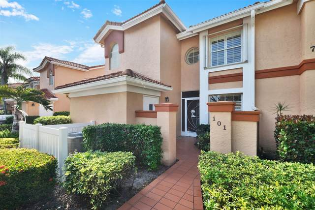 7865 Whispering Palms 101 Drive #101, Boynton Beach, FL 33437 (MLS #RX-10701018) :: The Paiz Group