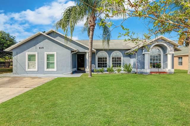 515 SW Jeanne Avenue, Port Saint Lucie, FL 34953 (#RX-10702595) :: Posh Properties