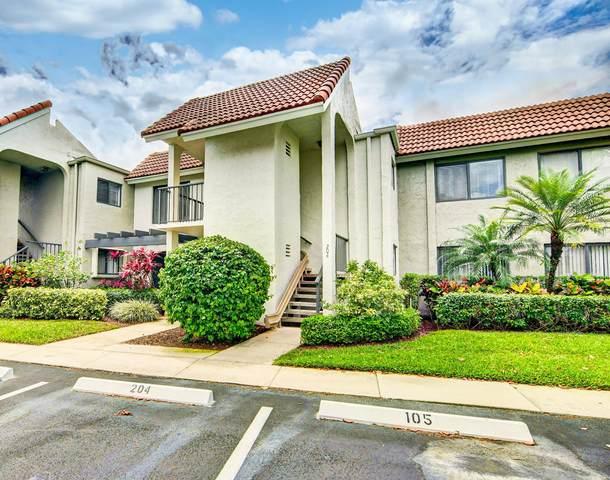 5771 Fairway Park Court #204, Boynton Beach, FL 33437 (MLS #RX-10703605) :: The Jack Coden Group