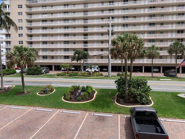 1051 Hillsboro Mile 207E, Hillsboro Beach, FL 33062 (#RX-10704222) :: The Rizzuto Woodman Team