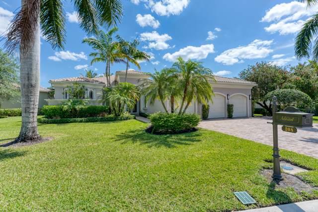208 Via Emilia, Palm Beach Gardens, FL 33418 (MLS #RX-10704810) :: The Jack Coden Group