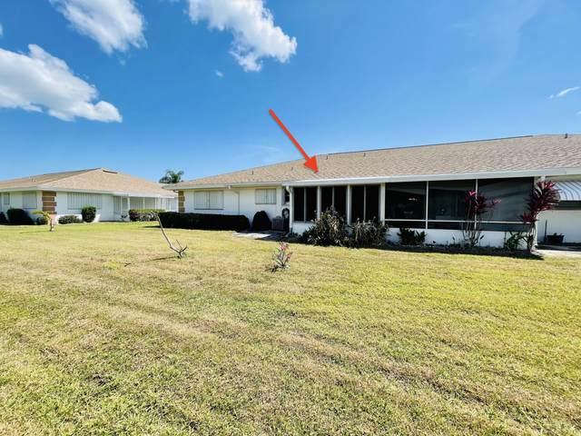 123 Lakes End Drive Unit C, Fort Pierce, FL 34982 (#RX-10706084) :: Baron Real Estate