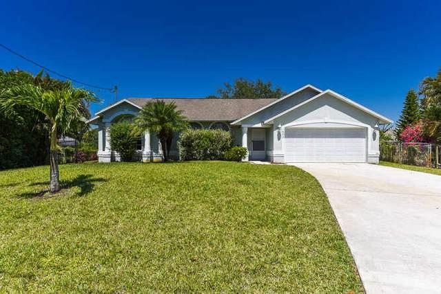 1602 SW Success Street, Port Saint Lucie, FL 34953 (#RX-10706420) :: Posh Properties