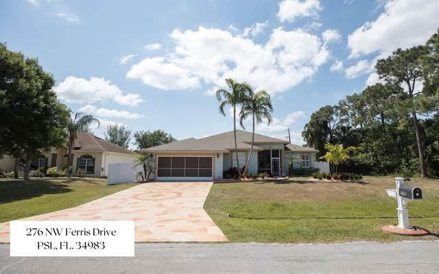 276 NW Ferris Drive, Port Saint Lucie, FL 34983 (#RX-10706861) :: Baron Real Estate