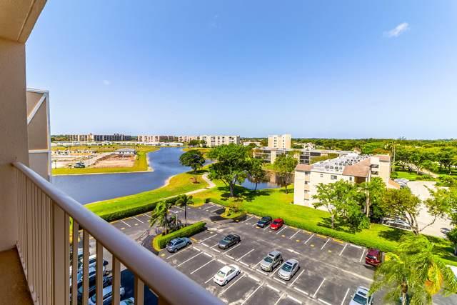 7076 Huntington Lane #805, Delray Beach, FL 33446 (#RX-10707442) :: Baron Real Estate