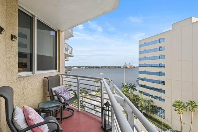 1551 N Flagler Drive #915, West Palm Beach, FL 33401 (#RX-10708033) :: Ryan Jennings Group