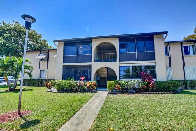 339 Pine Ridge Circle A-2, Greenacres, FL 33463 (#RX-10708044) :: Baron Real Estate
