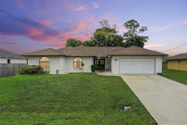 931 SW Haleyberry Avenue, Port Saint Lucie, FL 34953 (MLS #RX-10708682) :: The Jack Coden Group