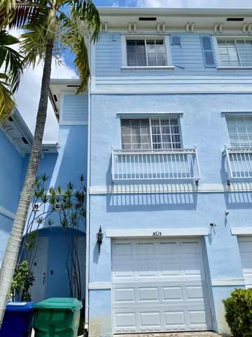 3615 NW 14th Court #3615, Lauderhill, FL 33311 (#RX-10708813) :: Real Treasure Coast
