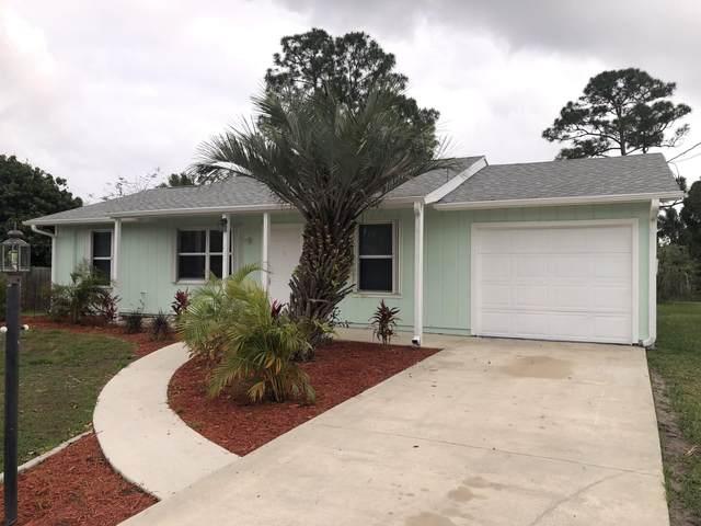 1226 SW Fountain Avenue, Port Saint Lucie, FL 34953 (MLS #RX-10709256) :: The Jack Coden Group