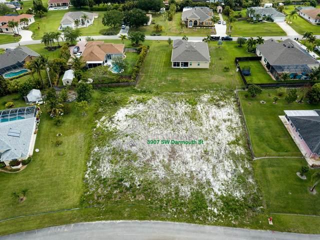 3907 SW Darmouth Street, Port Saint Lucie, FL 34953 (#RX-10710647) :: Baron Real Estate