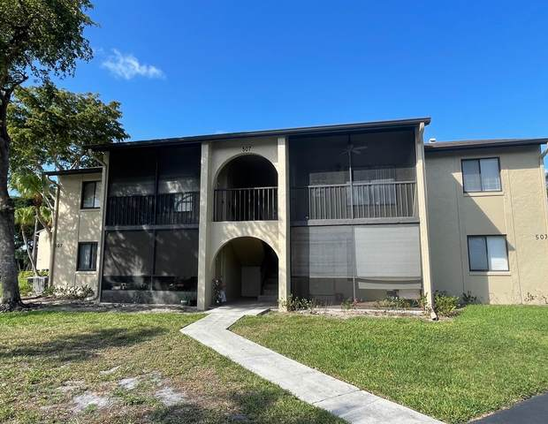 507 Shady Pine Way D2, Greenacres, FL 33415 (#RX-10710968) :: Signature International Real Estate