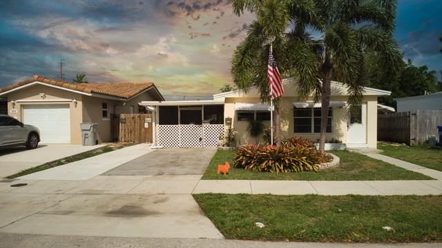3850 NE 16th Avenue, Pompano Beach, FL 33064 (#RX-10711221) :: Michael Kaufman Real Estate
