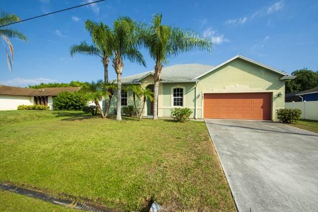 343 SW De Gouvea Terrace, Port Saint Lucie, FL 34984 (#RX-10714081) :: Real Treasure Coast