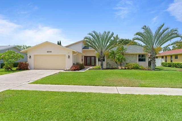 4545 Brandywine Drive, Boca Raton, FL 33487 (#RX-10716714) :: Michael Kaufman Real Estate