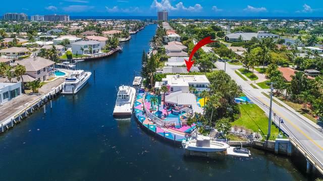 2601 NE 36th Street, Lighthouse Point, FL 33064 (#RX-10716766) :: Michael Kaufman Real Estate