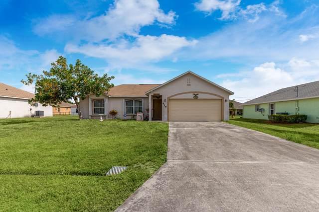 419 SW Exmore Avenue, Port Saint Lucie, FL 34953 (#RX-10716960) :: Michael Kaufman Real Estate
