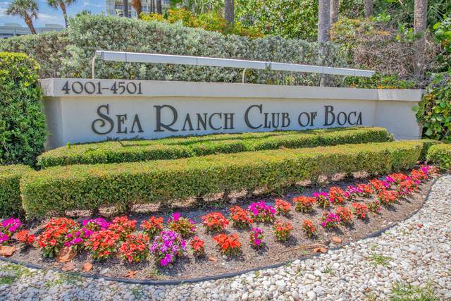 4201 N Ocean Boulevard #307, Boca Raton, FL 33431 (#RX-10718103) :: DO Homes Group