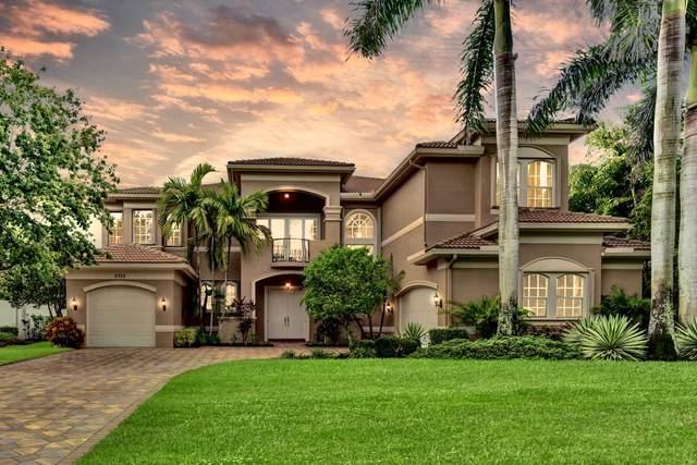 8738 Caraway Lake Court, Boynton Beach, FL 33473 (#RX-10718471) :: Michael Kaufman Real Estate
