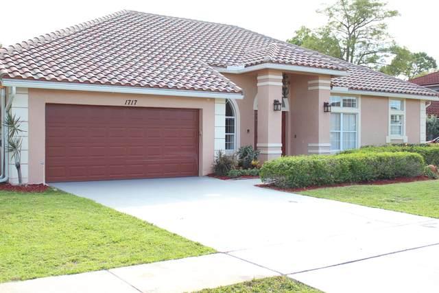 1717 Wiltshire Village Drive, Wellington, FL 33414 (#RX-10721349) :: Michael Kaufman Real Estate