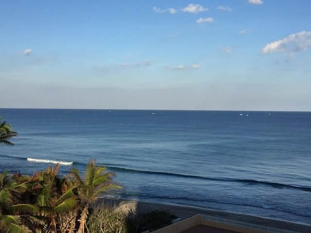 4505 S Ocean Boulevard #502, Highland Beach, FL 33487 (#RX-10722876) :: Treasure Property Group