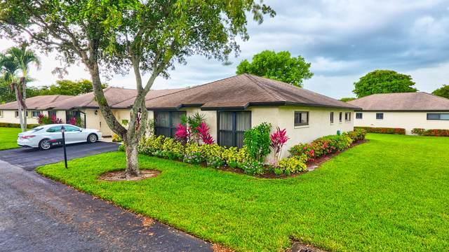 10281 Dovewood Lane B, Boynton Beach, FL 33436 (#RX-10725675) :: DO Homes Group