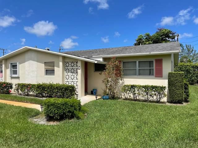 2946 Ashley Drive E Apt. H, West Palm Beach, FL 33415 (#RX-10731894) :: Treasure Property Group