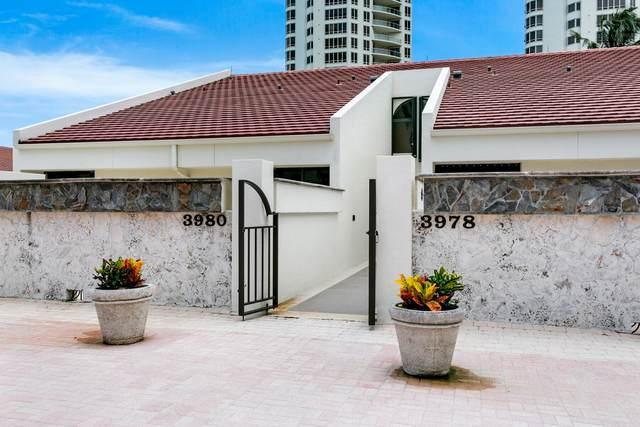 3980 N Ocean Drive Ov1, Riviera Beach, FL 33404 (#RX-10732747) :: Treasure Property Group