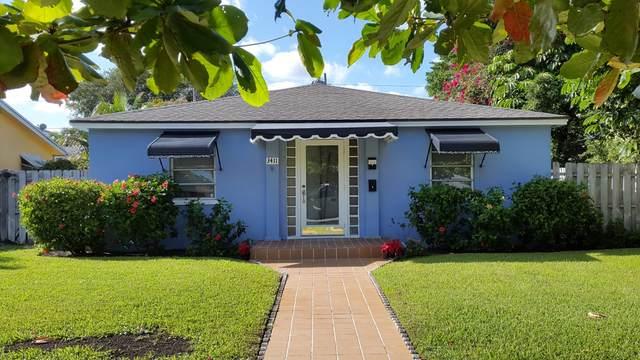 3411 Poinsettia Avenue, West Palm Beach, FL 33407 (MLS #RX-10734835) :: Berkshire Hathaway HomeServices EWM Realty