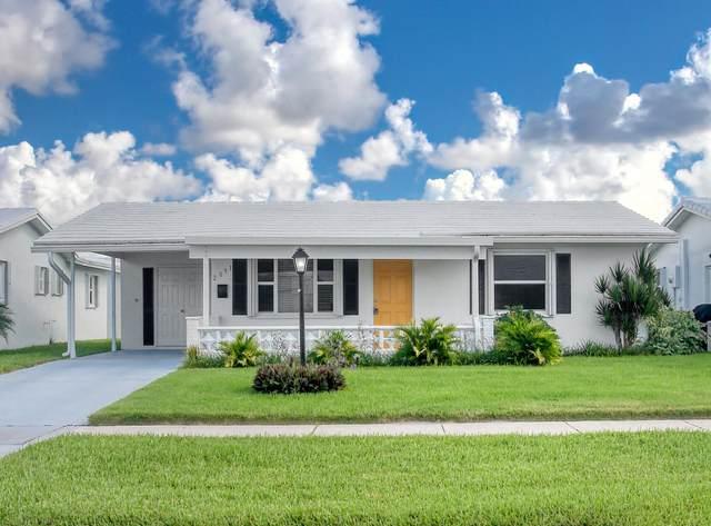2091 SW 13th Avenue, Boynton Beach, FL 33426 (#RX-10736407) :: IvaniaHomes | Keller Williams Reserve Palm Beach