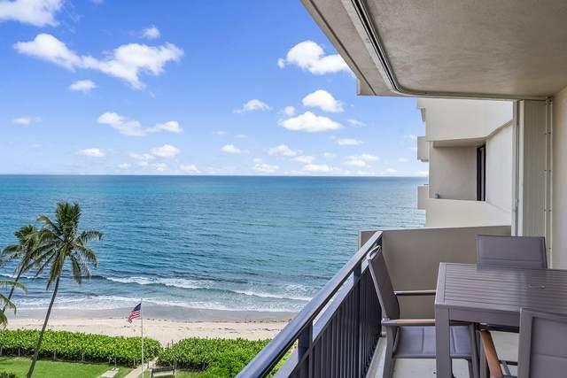 5460 N Ocean Drive 7-D, Singer Island, FL 33404 (#RX-10738168) :: IvaniaHomes   Keller Williams Reserve Palm Beach