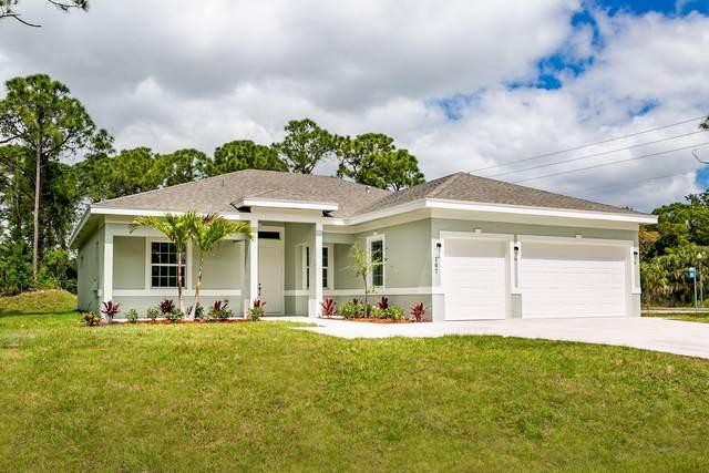 722 NW Grenada Street, Port Saint Lucie, FL 34952 (MLS #RX-10741141) :: Castelli Real Estate Services