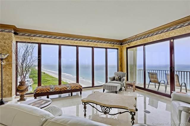 4400 N Highway A1a Ph1, 13N, Hutchinson Island, FL 34949 (#RX-10741795) :: Posh Properties