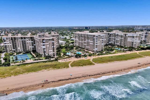 5000 N Ocean Boulevard #812, Lauderdale By the Sea, FL 33308 (MLS #RX-10742007) :: Berkshire Hathaway HomeServices EWM Realty