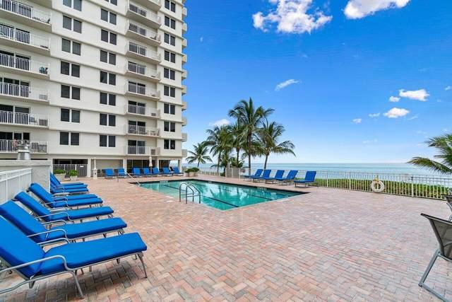 3215 S Ocean Boulevard #702, Highland Beach, FL 33487 (MLS #RX-10743005) :: Berkshire Hathaway HomeServices EWM Realty