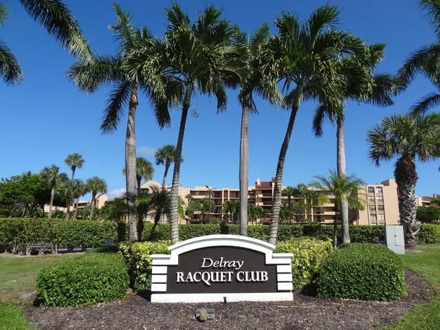 600 Egret 7504 Circle #7504, Delray Beach, FL 33444 (MLS #RX-10743564) :: Berkshire Hathaway HomeServices EWM Realty