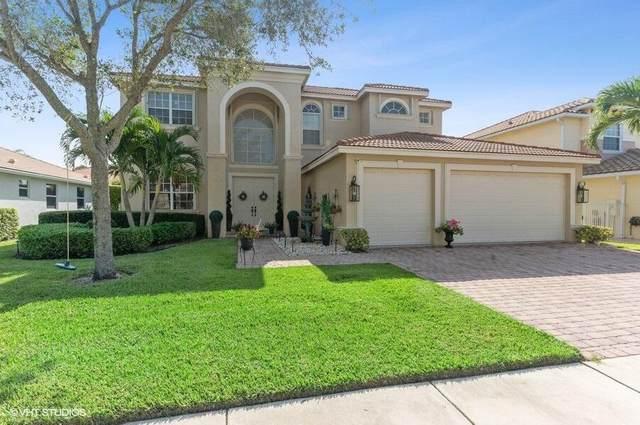 7237 Via Abruzzi, Lake Worth, FL 33467 (#RX-10743890) :: Michael Kaufman Real Estate