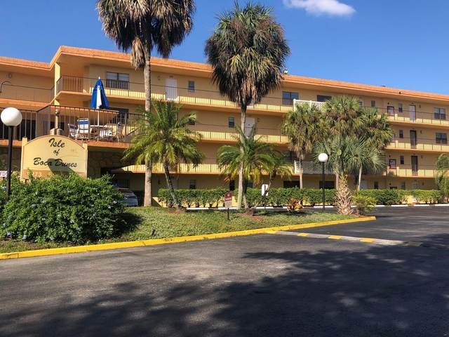 9273 SW 8th Street #209, Boca Raton, FL 33428 (MLS #RX-10745144) :: Berkshire Hathaway HomeServices EWM Realty