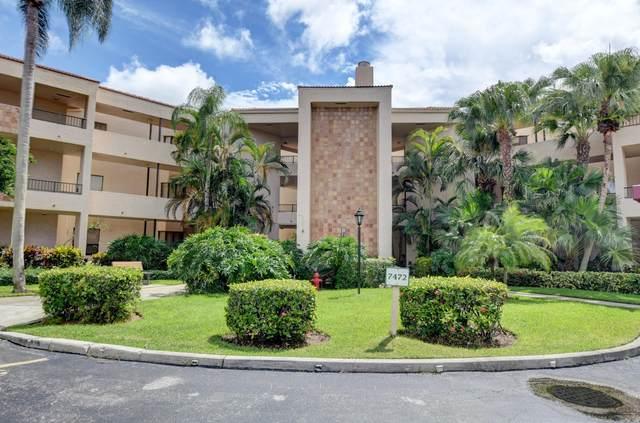 7472 La Paz Boulevard #207, Boca Raton, FL 33433 (#RX-10745219) :: Michael Kaufman Real Estate