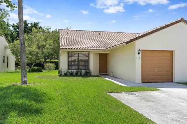 416 Cottonwood Place, Boca Raton, FL 33431 (MLS #RX-10745481) :: Castelli Real Estate Services