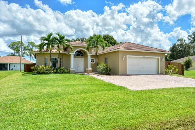 3081 SW Savona Boulevard, Port Saint Lucie, FL 34953 (MLS #RX-10746160) :: Castelli Real Estate Services