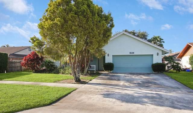 5136 Beechwood Road, Delray Beach, FL 33484 (MLS #RX-10746519) :: Castelli Real Estate Services